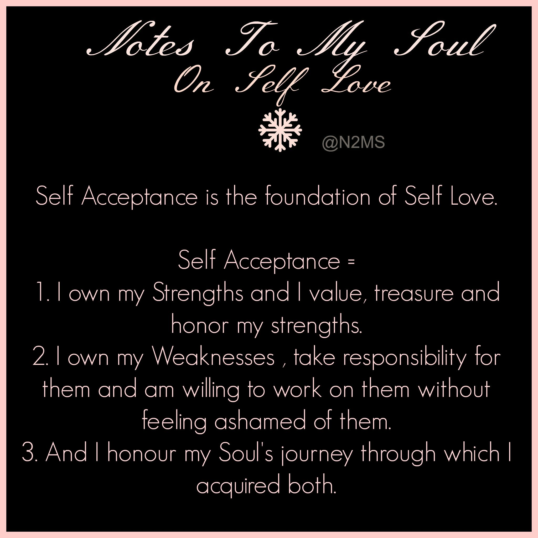 On Self Love The Dignified Soul
